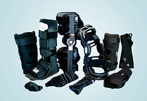 Image showing joint and limb braces